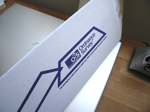 Ordnance survey delivery