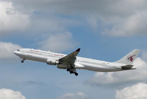 Qatar Airlines A330-302 A7-AEB