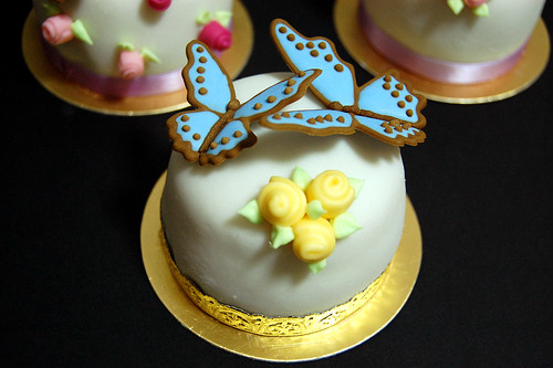 Miniature Sugar Paste Cake