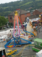 Fairground in Chesterfield (Respect AKP) Tags: fairground derbyshire chesterfield