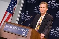 H.W. Crocker speaks at the NHIOP