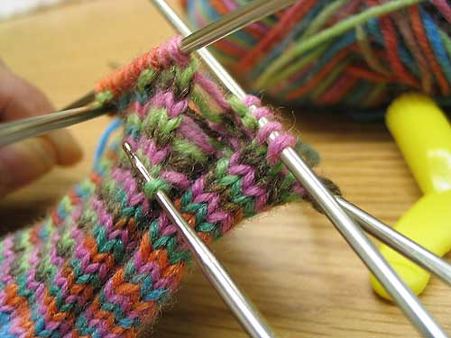 Sock Knitting Surgery