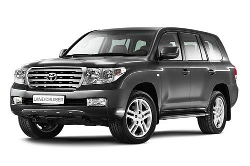 Новая Toyota Land Cruiser Фото