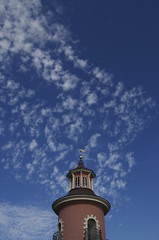 Leuchtturm Moritzburg (bolti22) Tags: sky lighthouse clouds himmel wolken leuchtturm moritzburg nikonstunninggallery