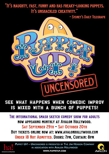 puppet up poster
