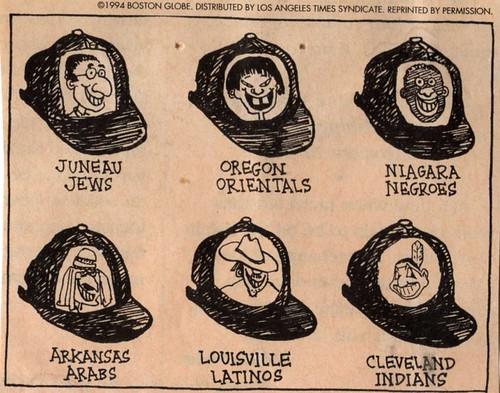 ny jews cleveland indians logos