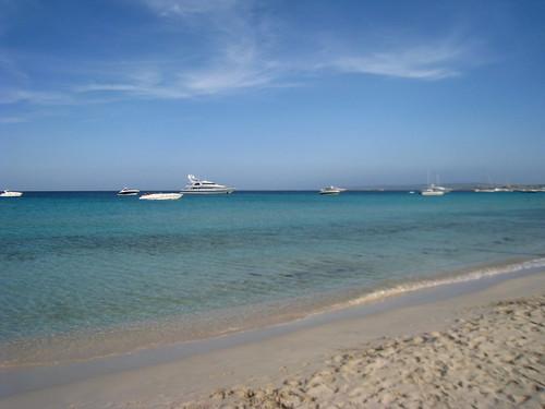 Boat envy in Formentera