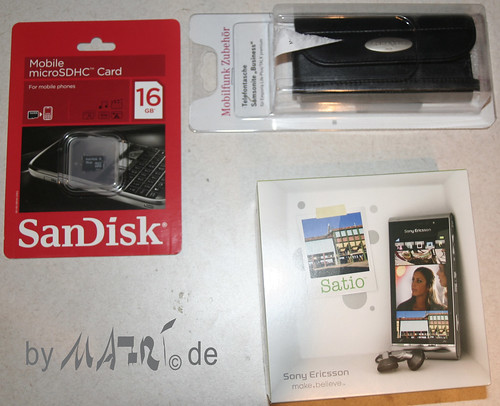 Satio + 16GB microSD + Bag