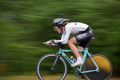 Time Trial Cycling (SE Nielsen) Tags: summer orange motion blur color green bike bicycle wheel sport norway race speed canon catchycolors eos cycling championship movement colorful ride dynamic time action helmet fast run move norwegian professional chain cycle ambient local velocity sprint trial pedal tyre bianchi 2010 nyip peloton twop ef70200f4l trndelag 40d viggja fotof8 temponm senielsenfotografino
