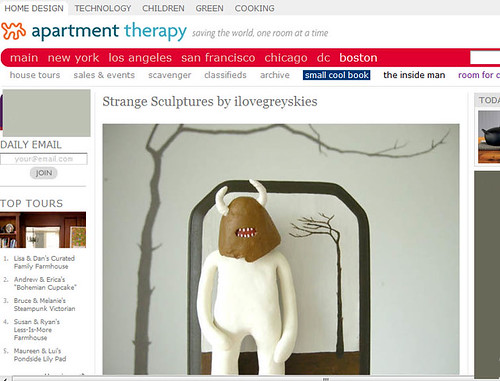 Featured on Apartment Therapy!