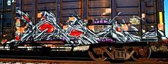 IMG_5484 (mightyquinninwky) Tags: railroad graffiti tag graf tracks railway tags tagged railcar rails boxcar graff graphiti freight trainart fr8 railart boxcarart freightart taggedboxcar paintedboxcar paintedrailcar taggedrailcar trainsformyspacestation
