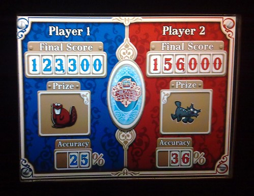 Toy Story Mania Score