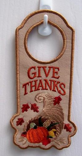 Autumn/Thanksgiving Door Hanger