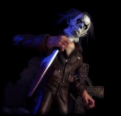 Mezco Cinema of Fear - Stylized Michael Myers [Halloween II] (Ed Speir IV) Tags: cinema film halloween monster movie toy toys actionfigure michael zombie fear icon rob figure horror figures remake stylized cof myers robzombie slasher mezco michaelmyers halloweenii cinemaoffear