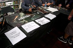 James C. Burns AKA Sargeant Frank Woods (mouriran) Tags: black game video team call duty xbox 360 event dev midnight launch westhollywood ops blackops callofduty ps3 gamestop wii