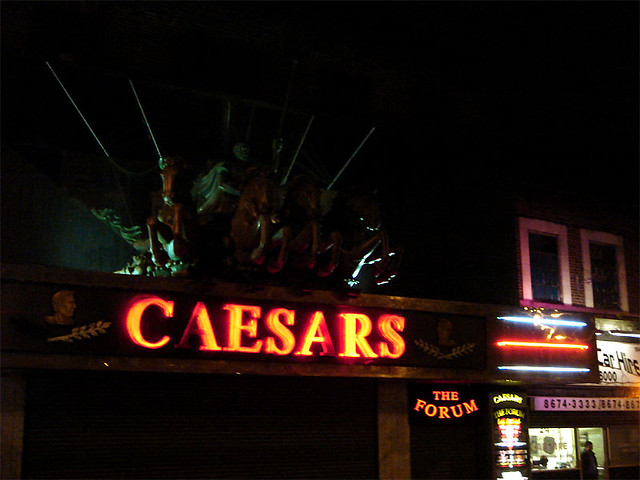 Caesars Palace, London - Location used in Snatch by Craig Grobler