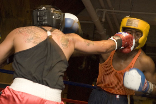 Flickr photo by Stefen Chow, taken at Trinity Boxing Club in 2007