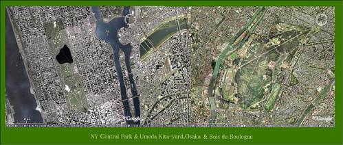 Google Earth 2 Parks & Umeda Kita-yard