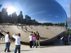 family by the bean