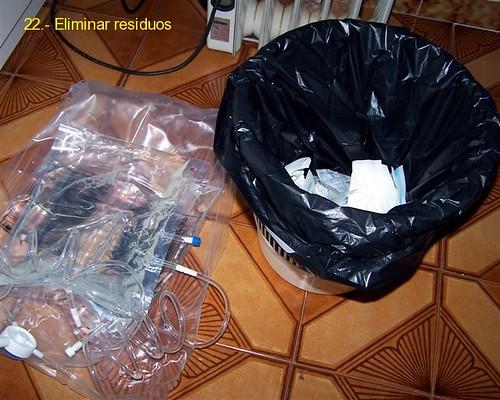 Eliminar residuos