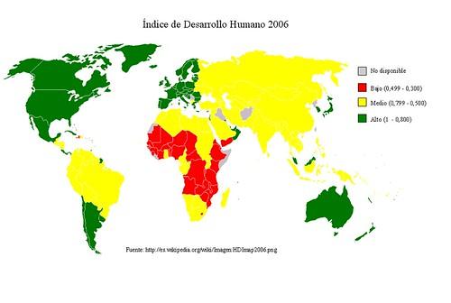 Mapa IDH 2006