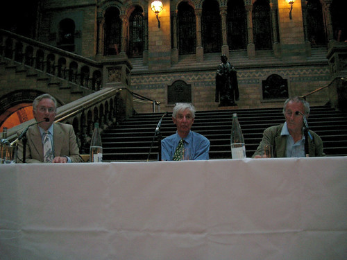 Discussion panel at the debate on Complexity and Evolution held during the GECCO'2007 conference