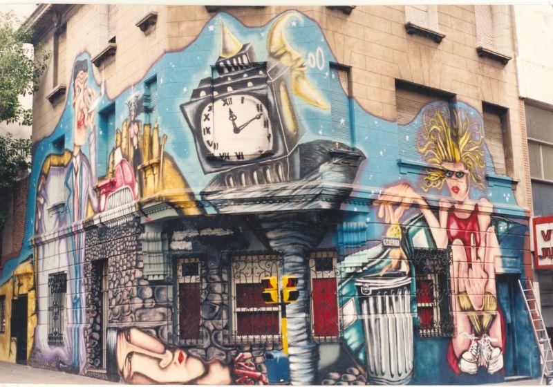 muralistas argentinos