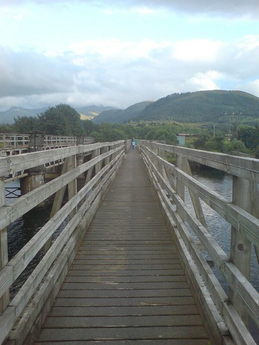 The bridge at Lochyside