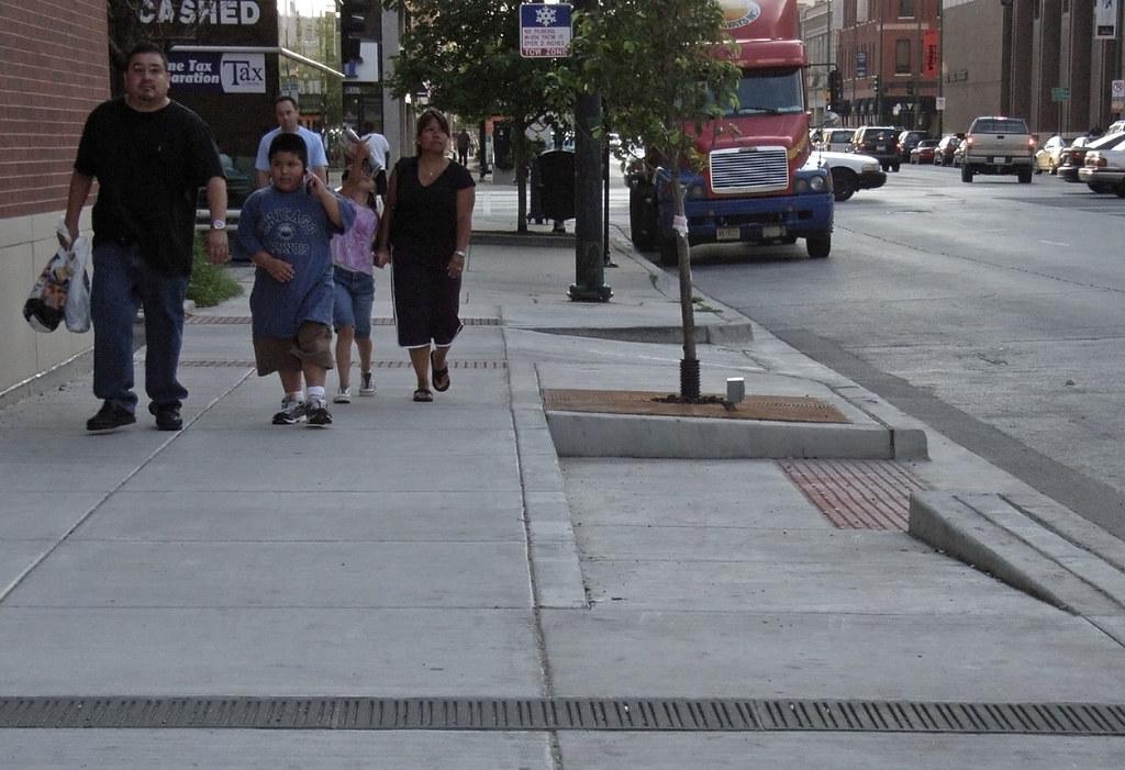 Access Living sidewalk ramp