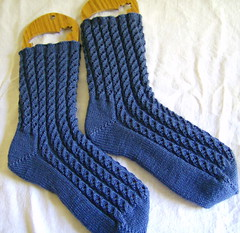 Waterfall Rib Socks