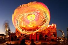 Optic Bloom (A Sutanto) Tags: california ca longexposure carnival usa night america lights evening dusk fair bluehour countyfair sanmateo colorphotoaward superhearts