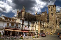 Plaza del Monasterio (II). (fmoreno.vera) Tags: plaza perfect photographer guadalupe cceres monasterio the extremadura ysplix
