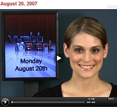 Morgan Webb Alert