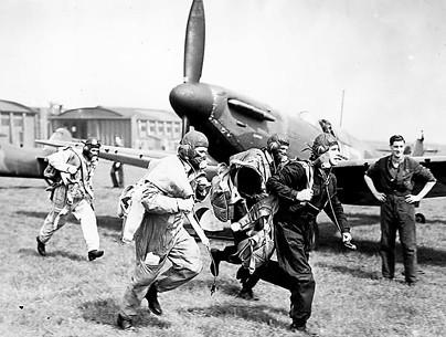 Spitfires Scramble