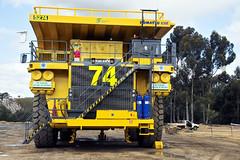 komatsu 830e front (dalinean) Tags: truck big machine dump sigma australia mining machinery massive huge wa geology sd10 komatsu immense westaustralia earthmoving haulpack 830e