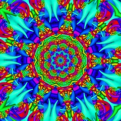 amk22 (Ate My Crayons) Tags: blue abstract art colors altered poster colours digitalart gimp vivid manipulation kaleidoscope mandala symmetry computerart fractal fractals psychedelic imagemanipulation multicolor kaleidoscopes fractalart kaleidoscopesonly coloursplosion