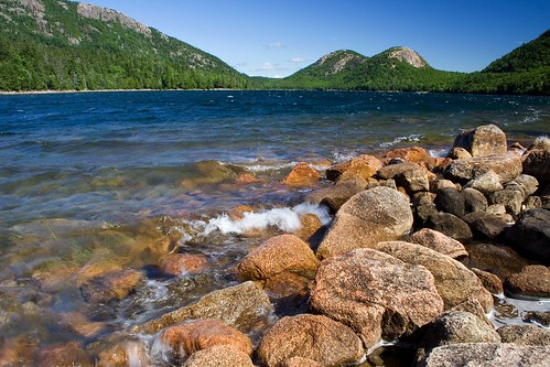On the Shore of Jordan Pond