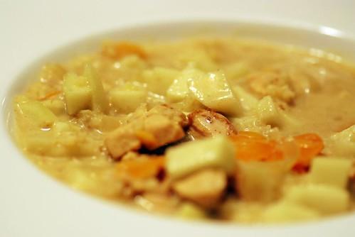 kycklingcurrysoppa