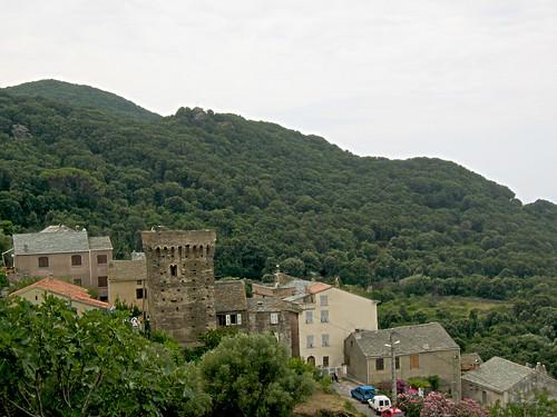 Village de Pino et sa tour