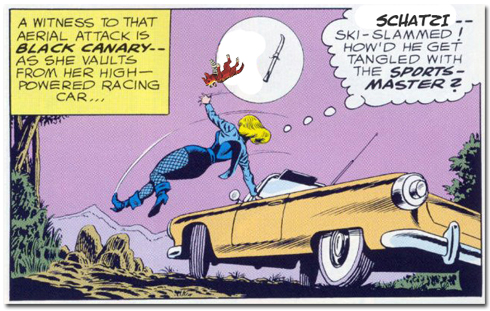 Will Black Canary's greatest nemesis the dreaded Sportsmaster