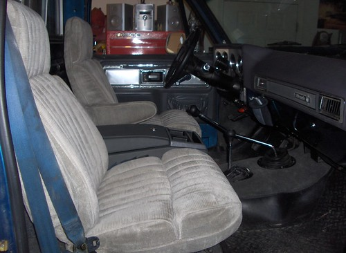 Suburban Bucket Seats In A Truck The 1947 Present