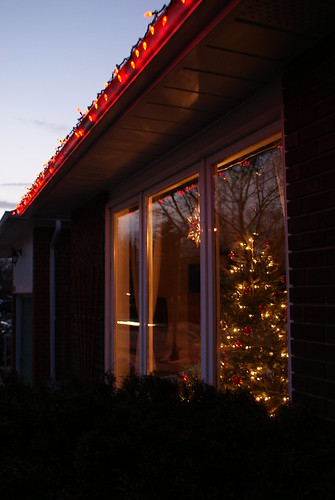 Christmas Through A Window