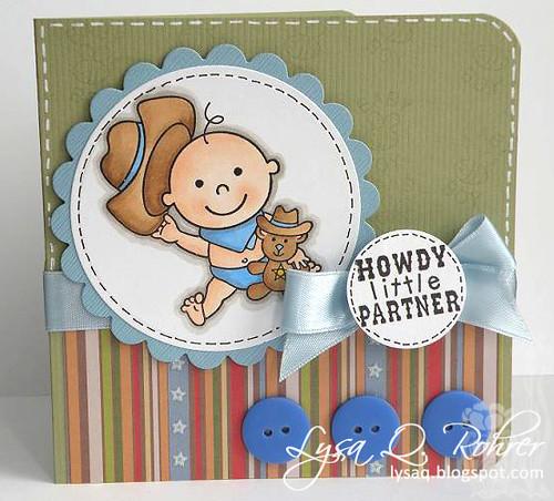 Howdy Little Partner