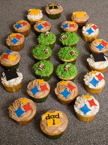 Steeler's Cupcakes