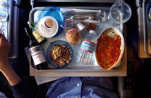 random bits: lunch on british airways by koadmunkee, on Flickr