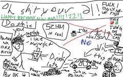 OH SHIT YOU'RE 21 WILL (DK Baxter) Tags: birthday old blue windows red italy white black green ford john happy this 1 1974 is italian paint fuck 21 brothers many flag blues police poland tags victoria monaco will bitch dk shit microsoft ms what dodge oh crown years baxter omg bitches belushi interceptor szymborska so szym driverkid