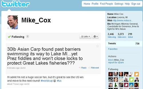 Mike Cox Tweets