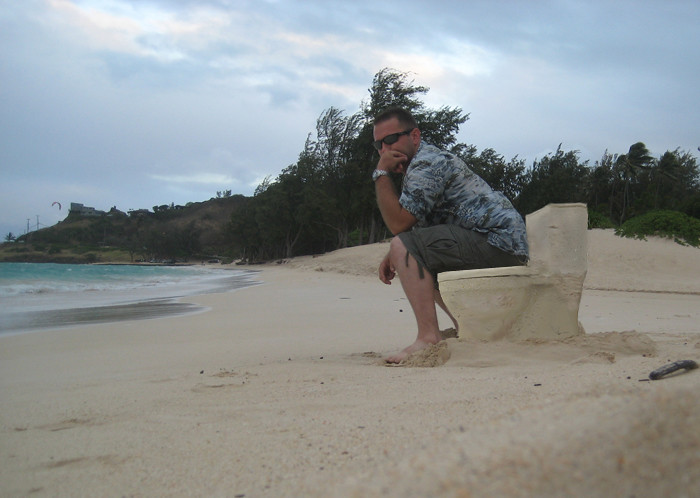 Sand Throne