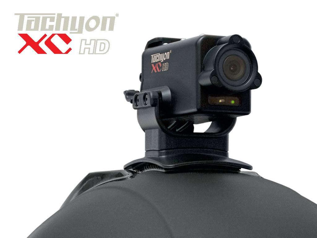 2011 Tachyon XC HD Helmet Camera Mounted on Motorcycle Helmet