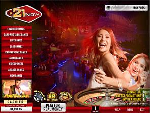 21 Nova Casino Lobby
